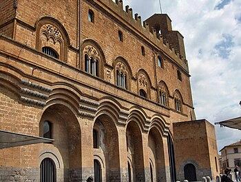 English: Palazzo del Capitano del Popolo, Orvi...