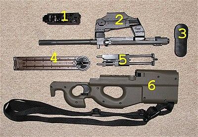 FN P90衝鋒槍 - 維基百科,自由的百科全書