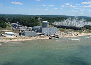 English: Photo of Palisades Nuclear Plant