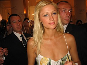 Paris Hilton at Cannes Film Festival 2005 Deut...