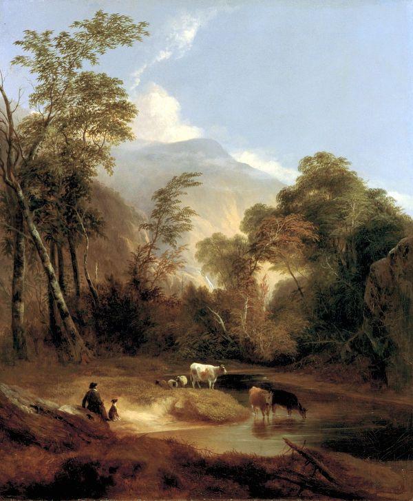 Pastoral Landscape Paintings