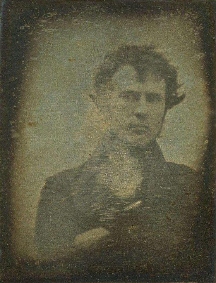 Robert Cornelius, eerste selfie in de geschiedenis