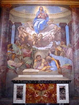 English: Assumption of the Virgin, by Daniele ...