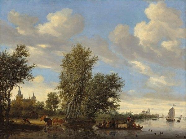 Salomon Van Ruysdael Wikipdia Enciclopdia Livre