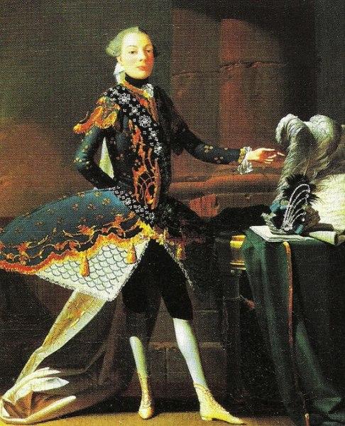Carlo Scalzi, a famous 18th century castrato.