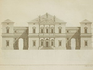 Villa Pisani in Leoni from Palladio