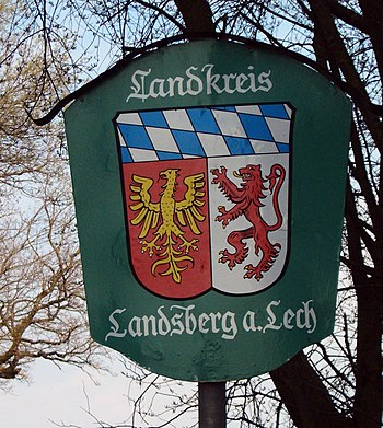 Wappen Landkreis Landsberg am Lech