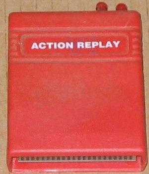 Action Replay Modul für den C-64