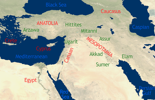 Ancient Orient for discussion about the origin of the Palestinians