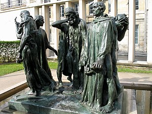 (en) The Burghers of Calais at the Rodin Museu...