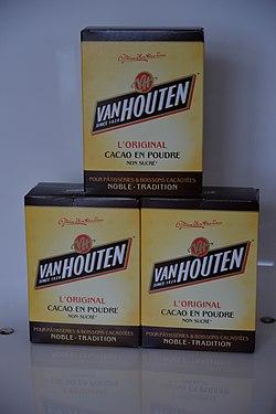 Chocolat En Poudre Van Houten : chocolat, poudre, houten, Houten, (chocolat), Wikipédia