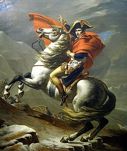Napoleon steekt de Grote St. Bernardpas over (1800)