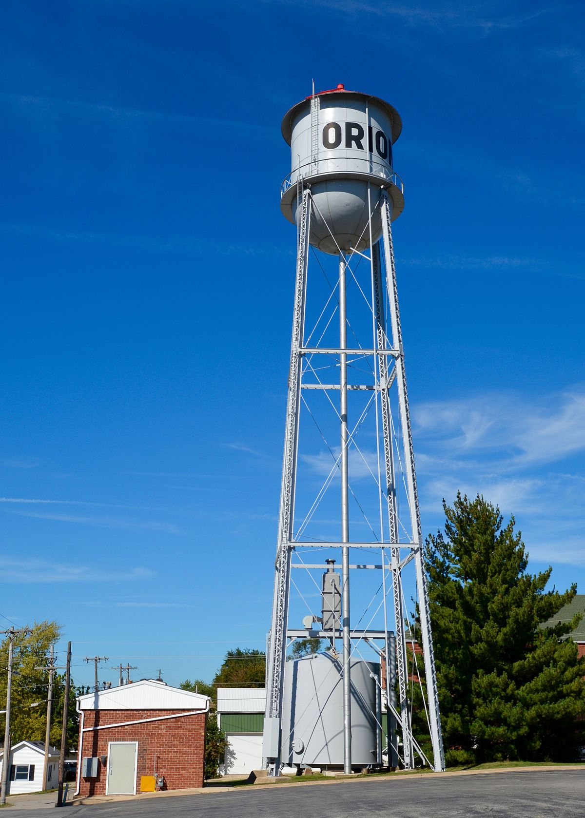West Water Tower And Ground Storage Tank Wikipedia