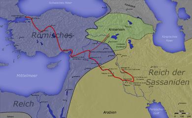 La campaña persa de Juliano.