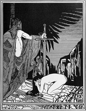 Picture Postcard. 'Rahab, Die Jerichonitin'. S...