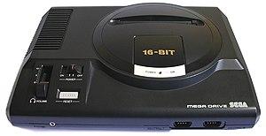 Sega Mega Drive (PAL version - 1990