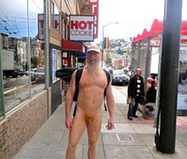 Nudewoody Walks Castro Street