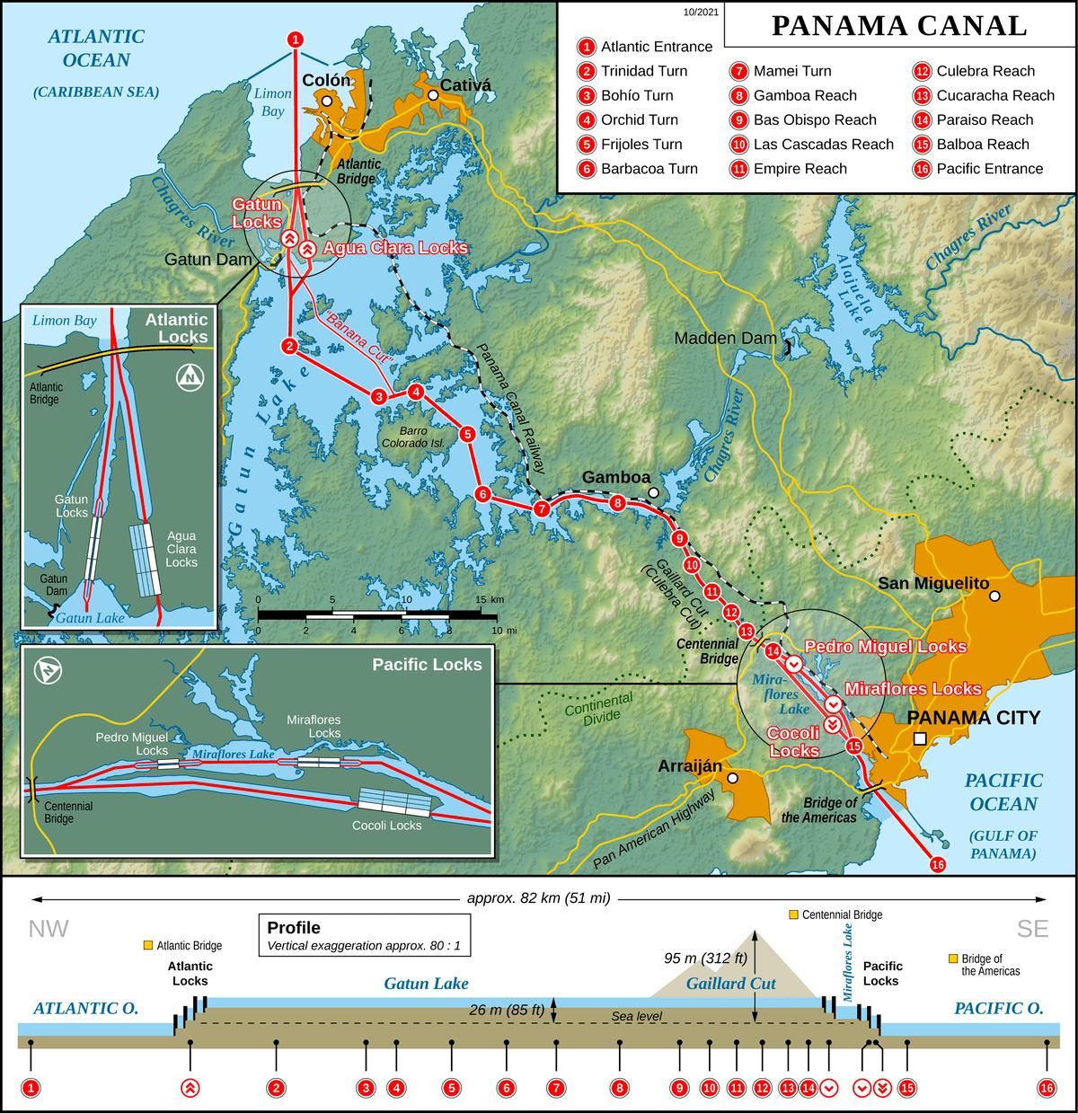 carnival cruise ship diagram 3 phase submersible pump control panel wiring panama canal - wikipedia