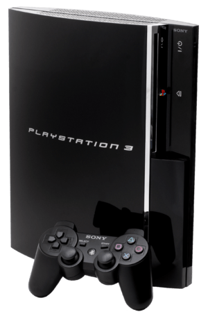 "English: The original ""fat"" PS3. Thi..."