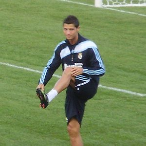 Real Madrid in Toronto Canada, Ronaldo