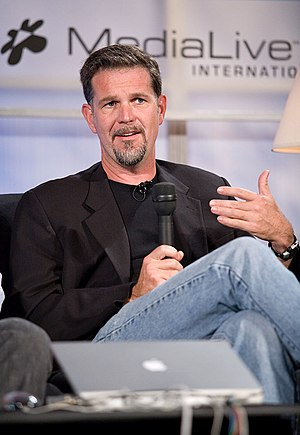 Founder and CEO of Netflix, Reed Hastings, cla...