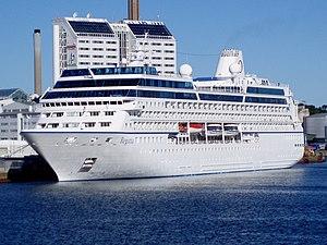 Oceania Cruises' M/S Regatta in Stockholm Frih...