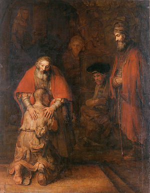 Rembrandt, The Return of the Prodigal Son, 166...