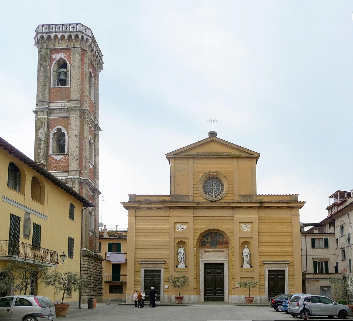Chiesa di San Giovanni Evangelista Ponsacco  Wikipedia