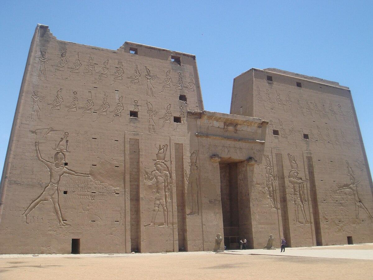 Pilone architettura egizia  Wikipedia