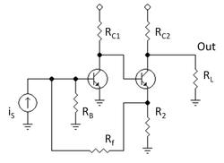 Análisis de un amplificador básico