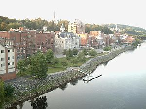 Augusta, Maine — from the bridge