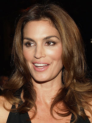 English: Cindy Crawford at The Fantastic Mr. F...