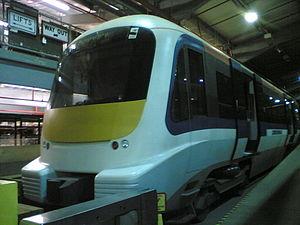Crossrail train mock