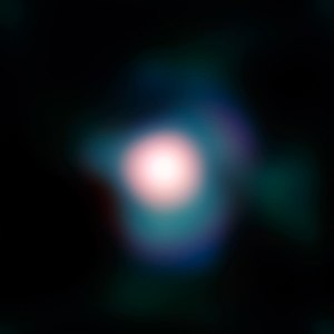 Image from ESO's Very Large Telescope showing ...