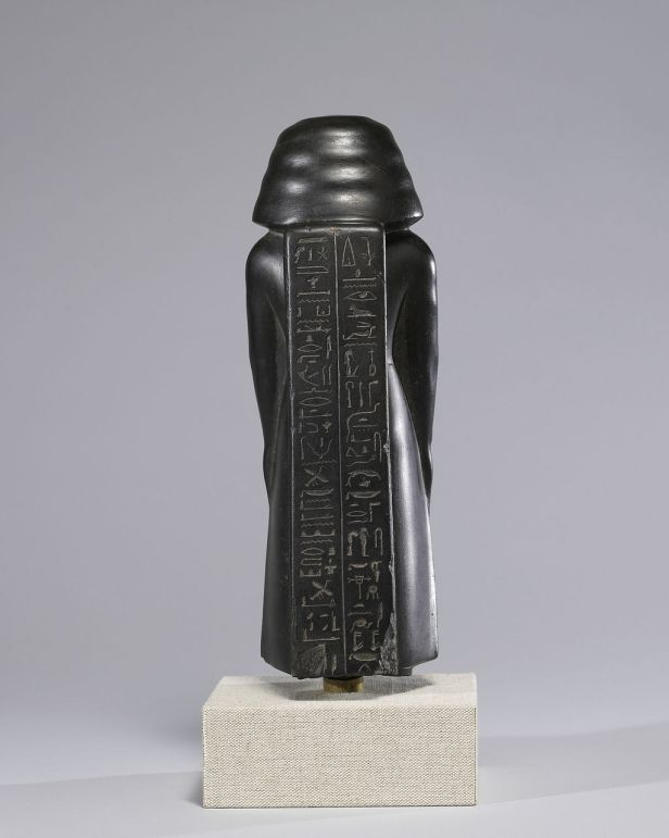 Egyptian - Statue of a Vizier, Usurped by Pa-di-iset - Walters 22203 - Back