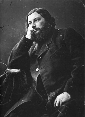 Photography of Gustave Courbet by Félix Nadar ...