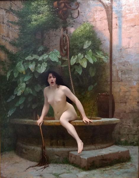 File:Jean Léon Gerome 1896 La Vérité sortant du puits.JPG