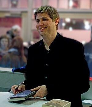 German writer Daniel Kehlmann at litcologne, 2...