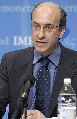 Economic Counsellor Kenneth Rogoff