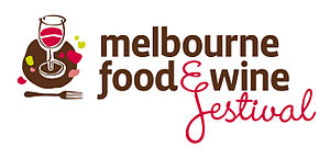English: Melbourne Food & Wine Festival logo
