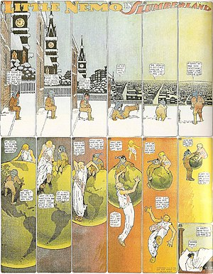 1906 Little Nemo in Slumberland cartoon by Win...