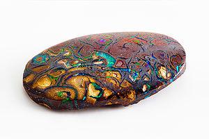 Opal from Yowah, Queensland, Australia