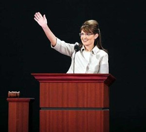 English: Sarah Palin addressing the 2008 Repub...