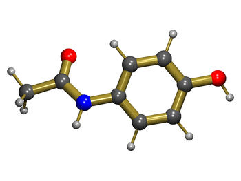 Acetaminophen (3D structure) overdose is the m...