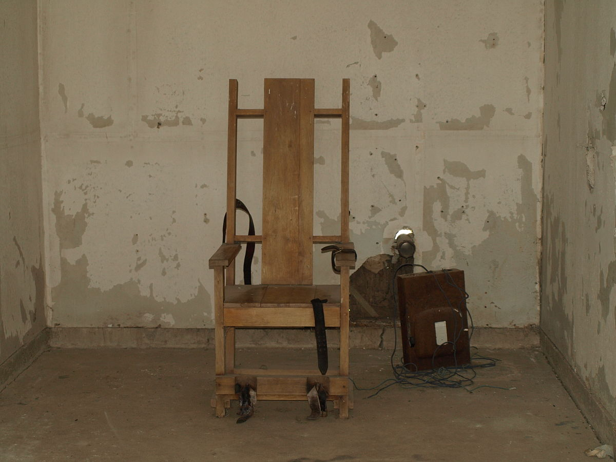 What States Still Use The Electric Chair Execution Chamber Wikipedia