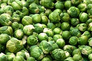 Deutsch: Rosenkohl English: Brussels sprouts