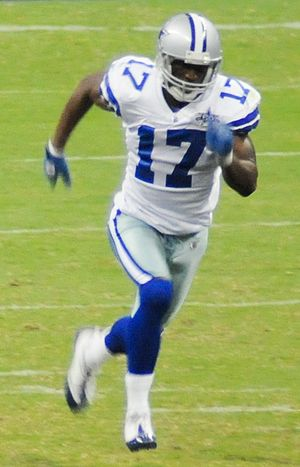 Sam Hurd of the Dallas Cowboys