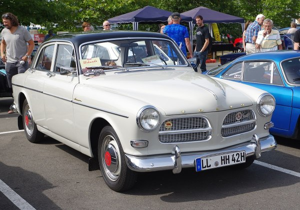 Volvo Amazon 123gt - Year of Clean Water
