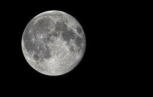 Español: Luna llena de julio de 2010 en Huelva