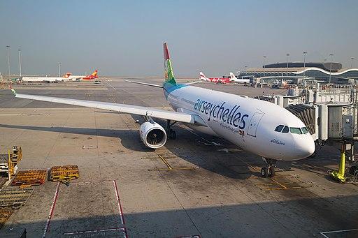 A6-EYY - A330-243 - Air Seychelles - HKG (13057907703)